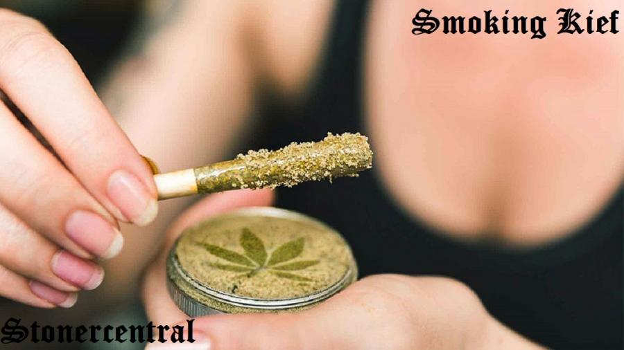 smoking kief