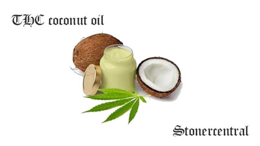 THC coconut oil