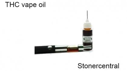 THC vape oil