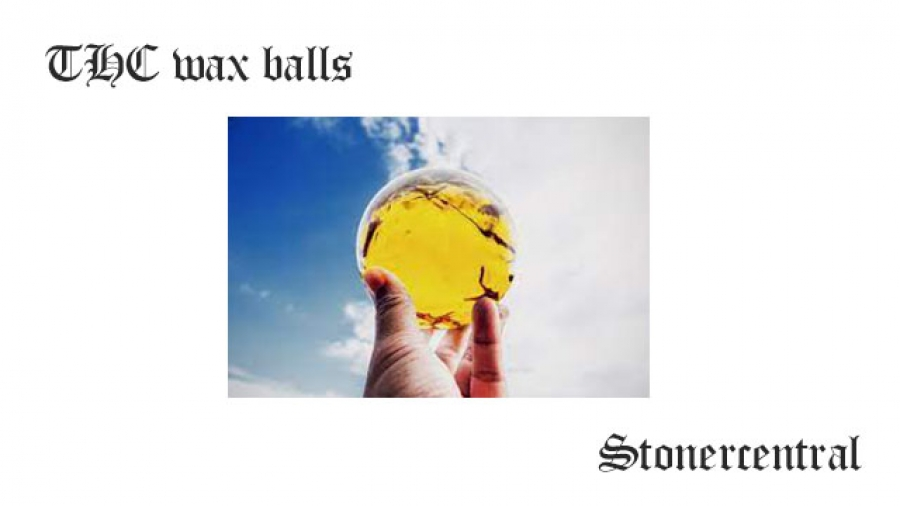 THC wax balls