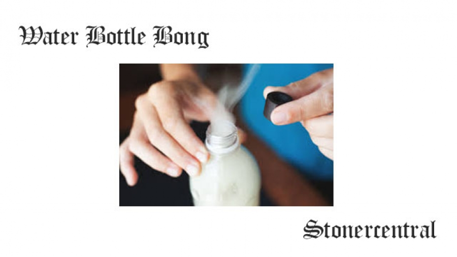 Water Bottle Bong