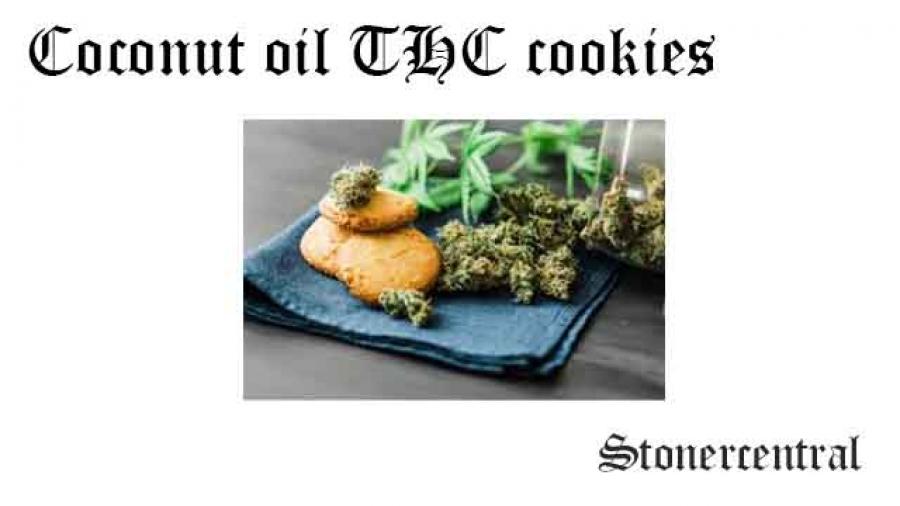 coconut oil thc cookies