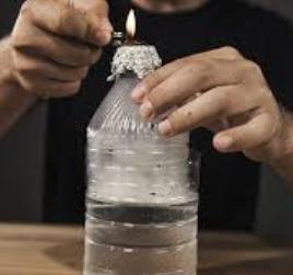 how do you make a water bottle bong